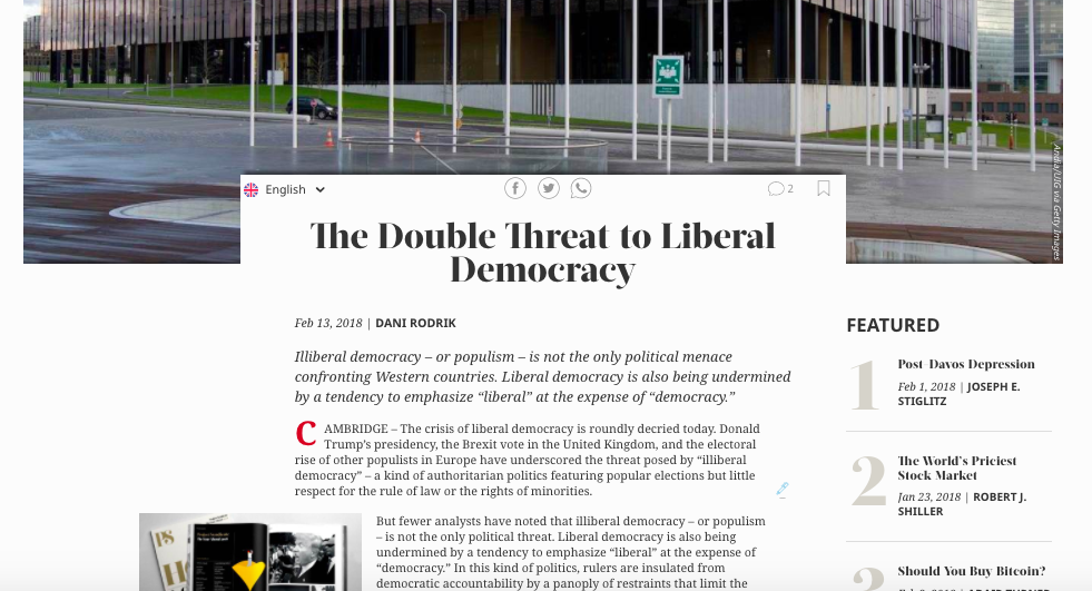 the features that makes up a liberal democracy Democratic regimes chapter review defining democracy democracy, and more specifically liberal democracy, is political power exercised either directly or indirectly.
